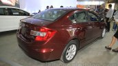 Honda Civic sedan rear three quarter right Nepal Auto Show 2015