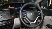 Honda Civic sedan steering wheel Nepal Auto Show 2015