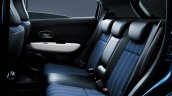 Honda Vezel Style Edition rear seats Japan
