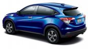 Honda Vezel Style Edition rear three quarter left Japan