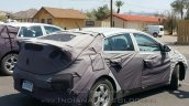 Hyundai AE (Toyota Prius rival) rear spotted in Death Valley by IAB reader