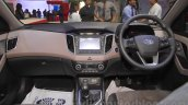 Hyundai Creta dashboard at Nepal Auto Show 2015