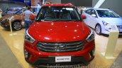 Hyundai Creta front at Nepal Auto Show 2015