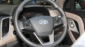 Hyundai Creta steering wheel at Nepal Auto Show 2015