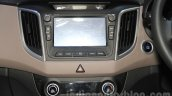 Hyundai Creta touchscreen at Nepal Auto Show 2015