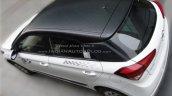 Hyundai Elite i20 Celebration Edition top
