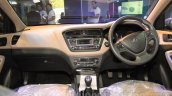 Hyundai Elite i20 dashboard interior at Nepal Auto Show 2015