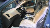 Hyundai Elite i20 front seats at Nepal Auto Show 2015