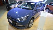 Hyundai Elite i20 front three quarter left at Nepal Auto Show 2015