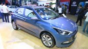 Hyundai Elite i20 front three quarter right at Nepal Auto Show 2015