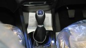 Hyundai Elite i20 gear lever at Nepal Auto Show 2015