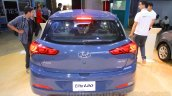 Hyundai Elite i20 rear at Nepal Auto Show 2015
