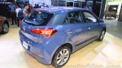 Hyundai Elite i20 rear three quarter right at Nepal Auto Show 2015