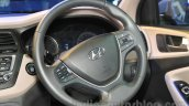 Hyundai Elite i20 steering wheel at Nepal Auto Show 2015