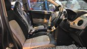 Hyundai Grand i10 front seats at Nepal Auto Show 2015