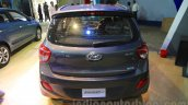 Hyundai Grand i10 rear at Nepal Auto Show 2015