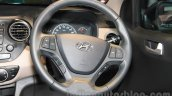 Hyundai Grand i10 steering wheel at Nepal Auto Show 2015