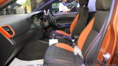 Hyundai i20 Active front seats at Nepal Auto Show 2015