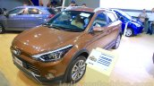 Hyundai i20 Active front three quarter left at Nepal Auto Show 2015