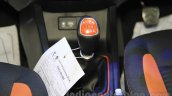 Hyundai i20 Active gear lever at Nepal Auto Show 2015