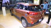 Hyundai i20 Active rear three quarter left at Nepal Auto Show 2015