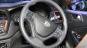 Hyundai i20 Active steering wheel at Nepal Auto Show 2015