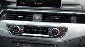 India-bound 2016 Audi A4 HVAC controls at the IAA 2015