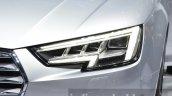 India-bound 2016 Audi A4 matrix headlamps at the IAA 2015
