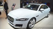 India-bound 2016 Jaguar XF front three quarter at the IAA 2015