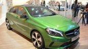 India-bound 2016 Mercedes A Class (facelift) front three quarter at IAA 2015