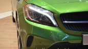 India-bound 2016 Mercedes A Class (facelift) headlamps at IAA 2015