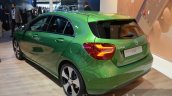 India-bound 2016 Mercedes A Class (facelift) rear quarter at IAA 2015