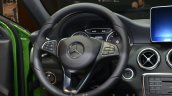 India-bound 2016 Mercedes A Class (facelift) steering wheel at IAA 2015