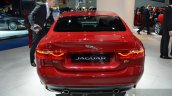 India-bound Jaguar XE rear at the IAA 2015