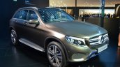 India-bound Mercedes GLC front quarter at the IAA 2015