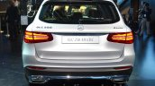 India-bound Mercedes GLC rear silver at the IAA 2015