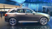 India-bound Mercedes GLC side brown at the IAA 2015