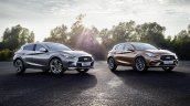 Infiniti Q30 front three quarter views official image