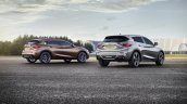 Infiniti Q30 rear official image