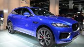 Jaguar F-Pace front three quarter right at IAA 2015