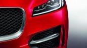 Jaguar F-Pace headlamp press image