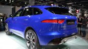 Jaguar F-Pace rear three quartet left at IAA 2015