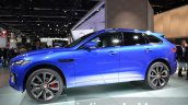 Jaguar F-Pace side at IAA 2015