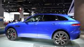 Jaguar F-Pace side left at IAA 2015