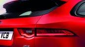 Jaguar F-Pace taillamp press image