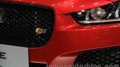 Jaguar XE S badge at the 2015 Chengdu Motor Show