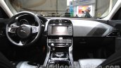Jaguar XE S dashboard at the 2015 Chengdu Motor Show