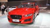 Jaguar XE S front at the 2015 Chengdu Motor Show