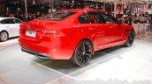 Jaguar XE S rear quarters at the 2015 Chengdu Motor Show
