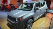 Jeep Renegade Nigh Eagle edition front three quarter at the IAA 2015